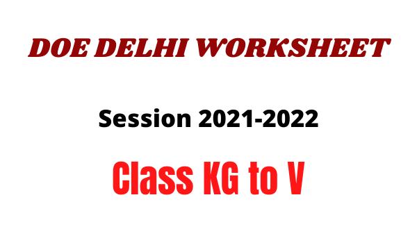doe delhi worksheet