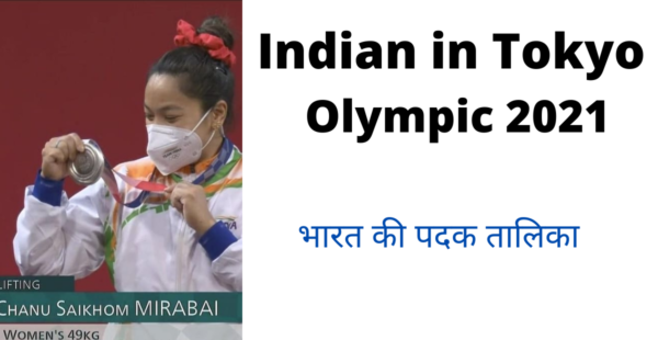 indian in olympic 2021
